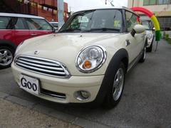 沖縄の中古車 MINI MINI 車両価格 115万円 リ済込 2009年 8.7万K ホワイト