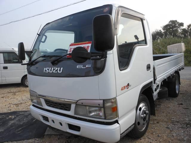 いすゞ エルフトラック 2t 低床 (車検整備付)