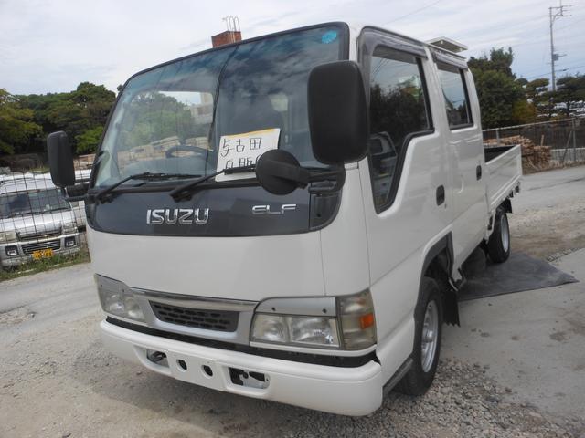いすゞ エルフトラック Wキャブ (車検整備付)