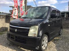 沖縄の中古車 スズキ ワゴンR 車両価格 17万円 リ済込 平成18年 9.7万K ブラック