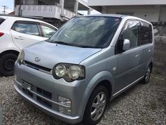 沖縄の中古車 ダイハツ ムーヴ 車両価格 13万円 リ済込 平成17年 14.0万K シルバー