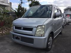 沖縄の中古車 スズキ ワゴンR 車両価格 13万円 リ済込 平成16年 11.9万K シルバー