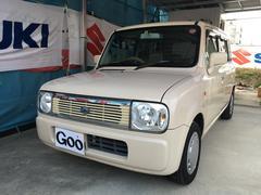 沖縄の中古車 スズキ アルトラパン 車両価格 35万円 リ済込 平成18年 15.2万K ベージュ