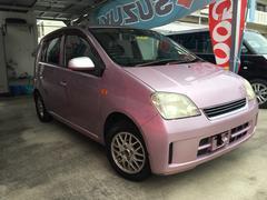 沖縄の中古車 ダイハツ ミラ 車両価格 19万円 リ済別 平成19年 11.7万K ピンク