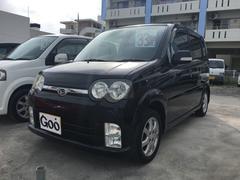 沖縄の中古車 ダイハツ ムーヴ 車両価格 33万円 リ済込 平成17年 11.5万K ブラックマイカ