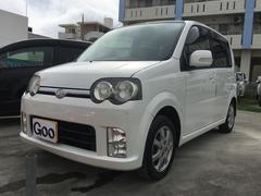 沖縄の中古車 ダイハツ ムーヴ 車両価格 33万円 リ済込 平成18年 11.1万K ホワイト