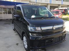 沖縄の中古車 スズキ ワゴンR 車両価格 135万円 リ済込 平成29年 5K ブラックM