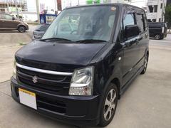 沖縄の中古車 スズキ ワゴンR 車両価格 39万円 リ済込 平成20年 10.2万K ブラックM