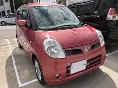 沖縄の中古車 日産 モコ 車両価格 38万円 リ済込 平成18年 6.6万K レッドM