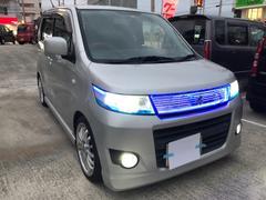沖縄の中古車 スズキ ワゴンRスティングレー 車両価格 39万円 リ済込 平成21年 12.1万K グレー