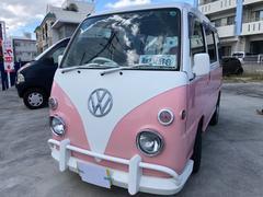 沖縄の中古車 スバル サンバーバン 車両価格 29万円 リ済込 平成10年 14.6万K ツートン