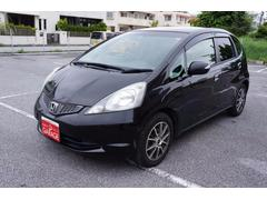 沖縄の中古車 ホンダ フィット 車両価格 49万円 リ済別 平成22年 3.2万K ブラック
