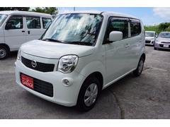 沖縄の中古車 日産 モコ 車両価格 49万円 リ済別 平成24年 9.0万K パールホワイト