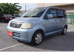 沖縄の中古車 三菱 eKワゴン 車両価格 19万円 リ済込 平成18年 15.5万K ダークブルー