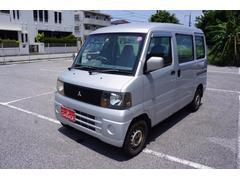 沖縄の中古車 三菱 ミニキャブバン 車両価格 14万円 リ済込 平成15年 15.0万K シルバー