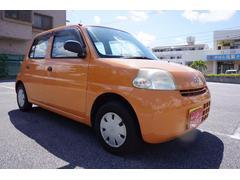 沖縄の中古車 ダイハツ エッセ 車両価格 14万円 リ済込 平成18年 8.4万K オレンジ
