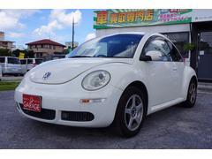 沖縄の中古車 フォルクスワーゲン VW ニュービートル 車両価格 39万円 リ済別 2008年 7.3万K ホワイト