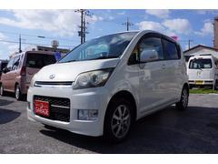 沖縄の中古車 ダイハツ ムーヴ 車両価格 24万円 リ済別 平成19年 10.1万K パール