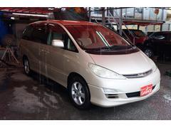 沖縄の中古車 トヨタ エスティマL 車両価格 19万円 リ済込 平成15年 14.9万K ライトゴールド