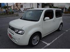 沖縄の中古車 日産 キューブ 車両価格 19万円 リ済別 平成22年 10.5万K ホワイト