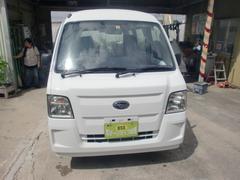 沖縄の中古車 スバル サンバーバン 車両価格 34万円 リ済込 平成22年 12.7万K ホワイト