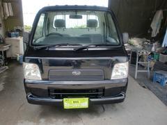 沖縄の中古車 スバル サンバートラック 車両価格 32万円 リ済込 平成15年 10.7万K ブラック