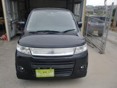 沖縄の中古車 スズキ ワゴンRスティングレー 車両価格 36万円 リ済込 平成20年 12.1万K ブラックM