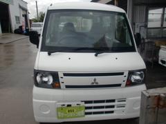 沖縄の中古車 三菱 ミニキャブバン 車両価格 32万円 リ済込 平成22年 12.3万K ホワイト