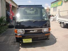 沖縄の中古車 ダイハツ ハイゼットトラック 車両価格 34万円 リ済込 平成9年 10.2万K ブラック