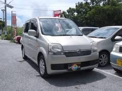 沖縄の中古車 ダイハツ ムーヴ 車両価格 13万円 リ済込 平成16年 7.8万K ライトゴールド