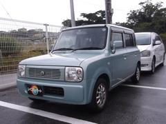 沖縄の中古車 スズキ アルトラパン 車両価格 13万円 リ済込 平成15年 13.1万K Lグリーン