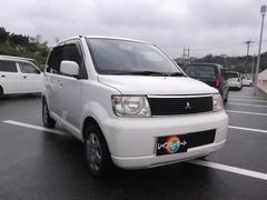 沖縄の中古車 三菱 eKワゴン 車両価格 13万円 リ済込 平成15年 9.5万K ホワイト