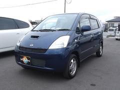 沖縄の中古車 スズキ MRワゴン 車両価格 15万円 リ済込 平成14年 7.6万K 紺