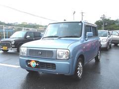 沖縄の中古車 スズキ アルトラパン 車両価格 14万円 リ済込 平成14年 12.7万K ライトブルー