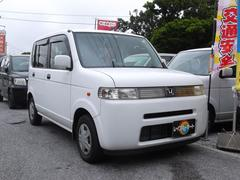 沖縄の中古車 ホンダ ザッツ 車両価格 18万円 リ済込 平成18年 8.1万K ホワイト