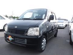 沖縄の中古車 スズキ ワゴンR 車両価格 15万円 リ済込 平成15年 7.6万K ブラック