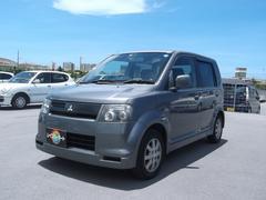 沖縄の中古車 三菱 eKスポーツ 車両価格 18万円 リ済込 平成15年 10.5万K グレー