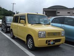 沖縄の中古車 スズキ アルトラパン 車両価格 16万円 リ済込 平成14年 9.1万K イエロー