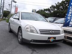 沖縄の中古車 日産 ティアナ 車両価格 17万円 リ済込 平成15年 14.0万K パールホワイト