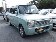 沖縄の中古車 スズキ アルトラパン 車両価格 19万円 リ済別 平成15年 8.5万K Lグリーン