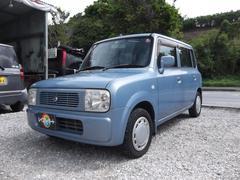 沖縄の中古車 スズキ アルトラパン 車両価格 17万円 リ済込 平成14年 5.8万K ブルーグレー