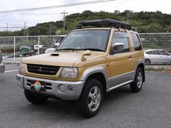 沖縄の中古車 三菱 パジェロミニ 車両価格 18万円 リ済込 平成10年 13.6万K イエローII