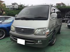沖縄の中古車 トヨタ ハイエースワゴン 車両価格 65万円 リ済込 平成10年 16.0万K シルバー