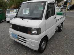 沖縄の中古車 三菱 ミニキャブトラック 車両価格 34万円 リ済込 平成15年 9.9万K ホワイト