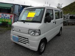 沖縄の中古車 三菱 ミニキャブバン 車両価格 44万円 リ済込 平成24年 11.2万K ホワイト