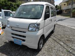 沖縄の中古車 ダイハツ ハイゼットカーゴ 車両価格 38万円 リ済込 平成23年 11.5万K ホワイト