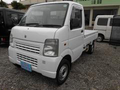 沖縄の中古車 スズキ キャリイトラック 車両価格 34万円 リ済込 平成16年 7.3万K ホワイト