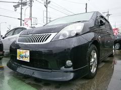 沖縄の中古車 トヨタ アイシス 車両価格 89万円 リ済込 平成22年 8.5万K DブラックM