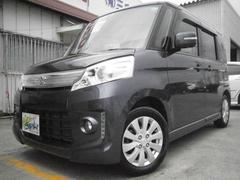 沖縄の中古車 スズキ スペーシアカスタム 車両価格 104万円 リ済込 平成26年 7.5万K グレーM