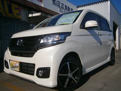 沖縄の中古車 ホンダ N−WGNカスタム 車両価格 104万円 リ済込 平成26年 7.1万K パールホワイト